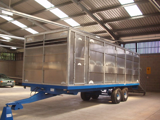 24FT CONTAINER WOLDS CHASSIS