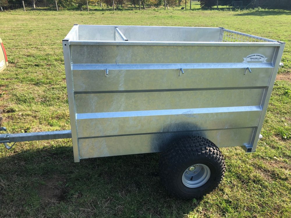 4ft ATV Trailer Side