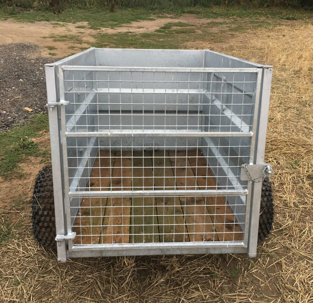 3ft ATV Trailers with gate