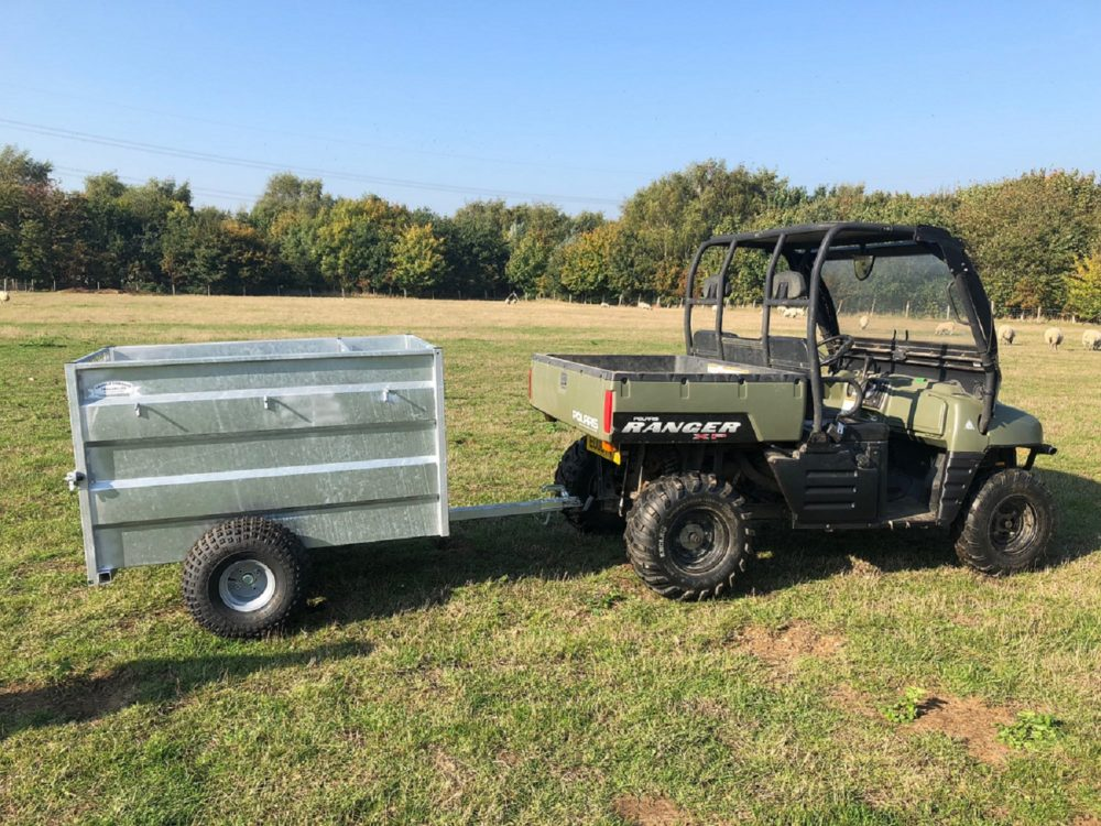 4ft ATV Trailers Towed