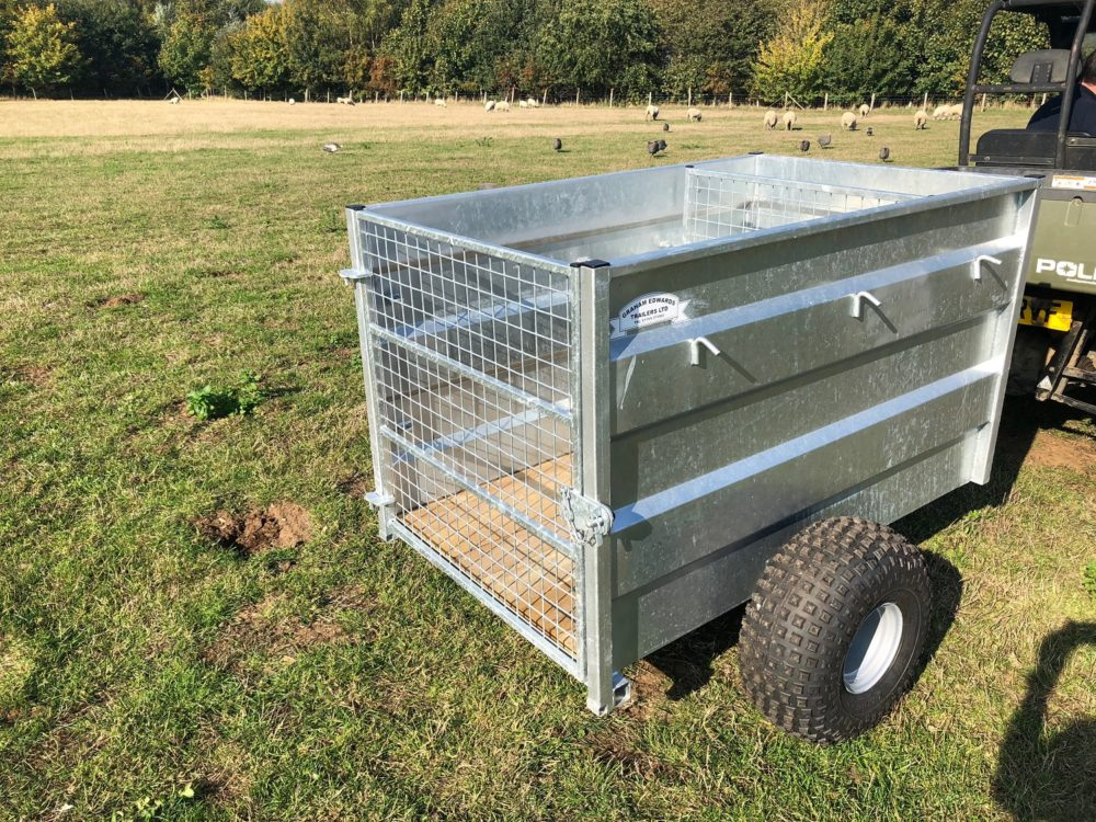 ATV Trailer with Dividing Gate