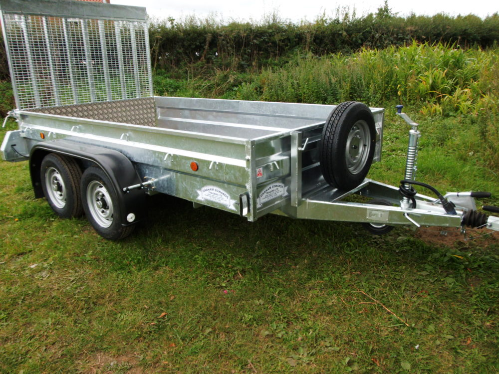 General Purpose Tandem Axle Braked Ramp Type