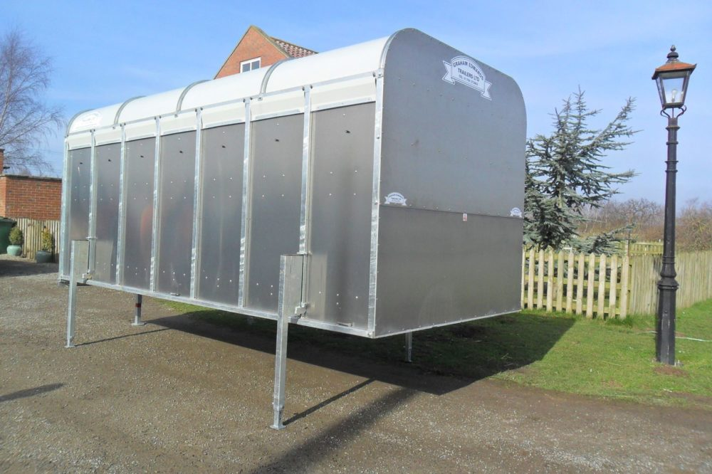 "Demountable Livestock Trailers - 6' 6"" Box only"
