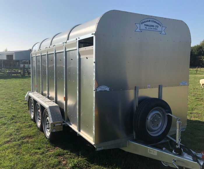 Livestock Trailer 6ft 3in GET14WT Cattle Trailer