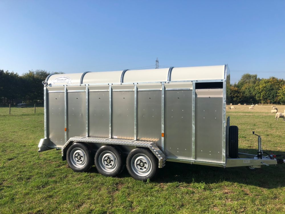 Livestock Trailers 6ft 3in GET14WT Mudguards