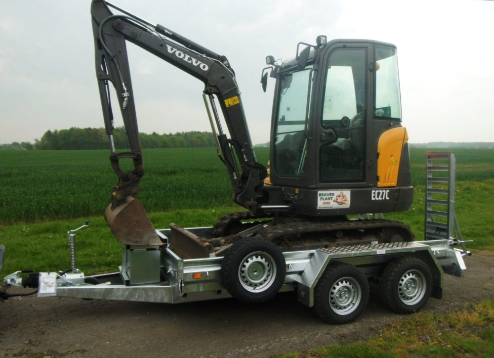 Plant Trailers for Sale - these can carry a Digger