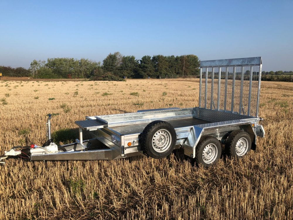 Plant Trailers for Sale - Ramp Type Tailgate
