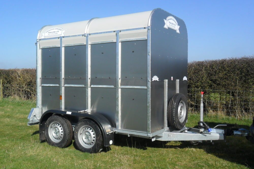GET 85 No Decks Livestock Trailers 5ft