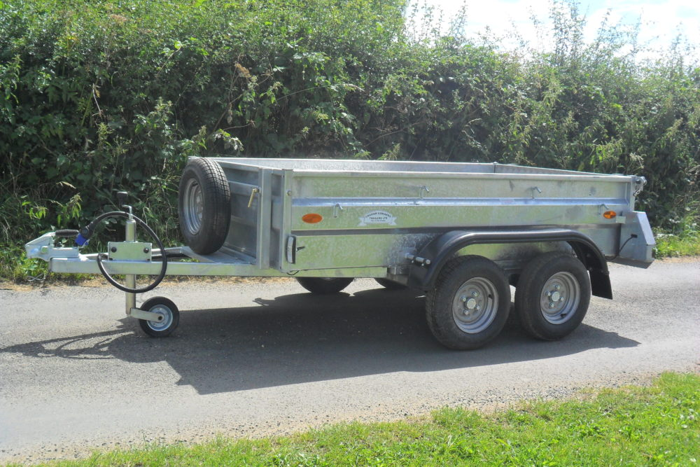 General Purpose Tandem Axle Unbraked Front Side