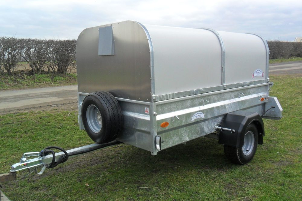 Sheep and Pig Livestock Trailers with spare wheel
