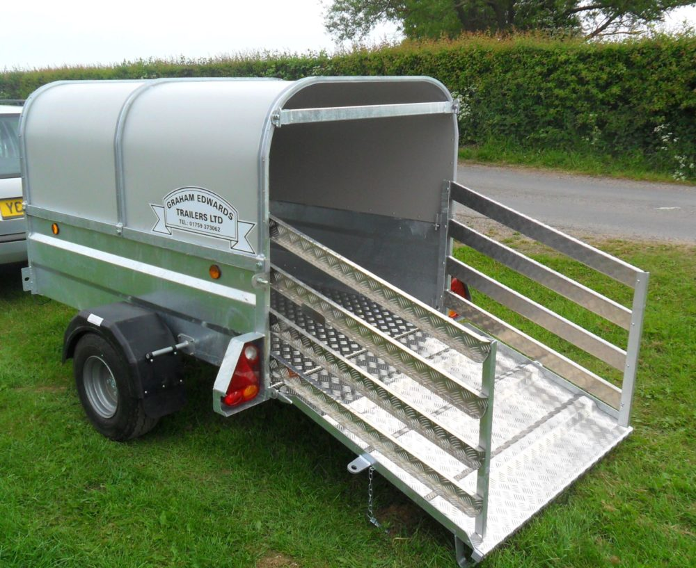 Sheep and Pig Livestock Trailers Ramp & Gates