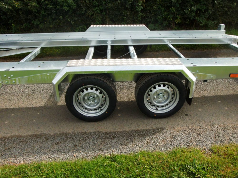 Car Transporter Trailers Wheels