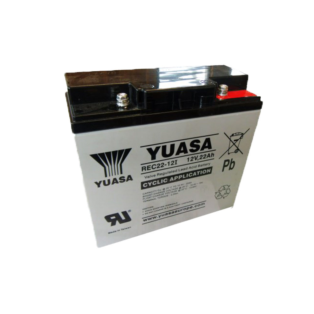 12V battery for livestock power decks