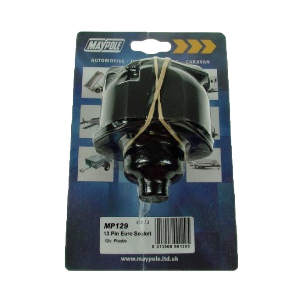 13 13 Pin plastic socket