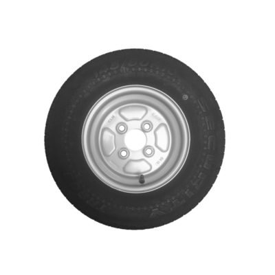 Wheel & Tyre 145 x 10inch 4 Stud PCD 100mm