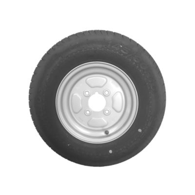 Wheel & Tyre 145 x 10inch 4 Stud PCD 4inch