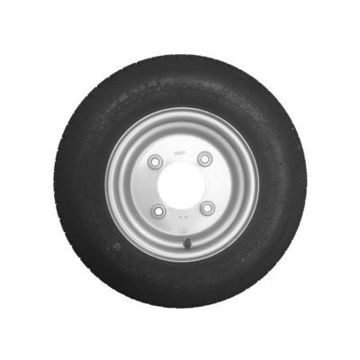 Wheel & Tyre 145 x 10inch 4 Stud PCD 5.5inch