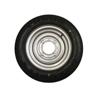 Wheel & Tyre 155/70 R12 4 Stud PCD 5.5 Inch