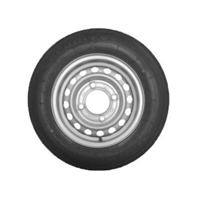 Wheel & Tyre 155 R13 4 Stud PCD 5.5 Inch