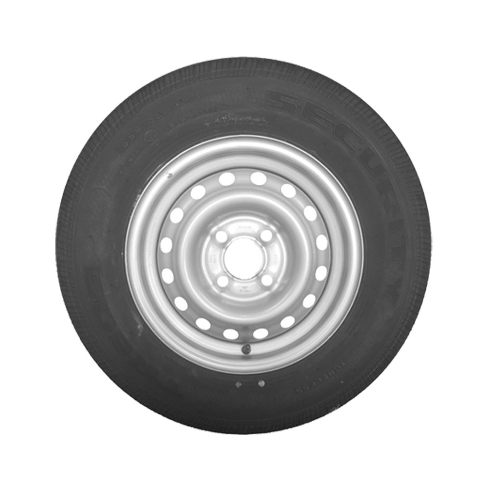 Wheel & Tyre 165 R13C 4 Stud PCD 100mm
