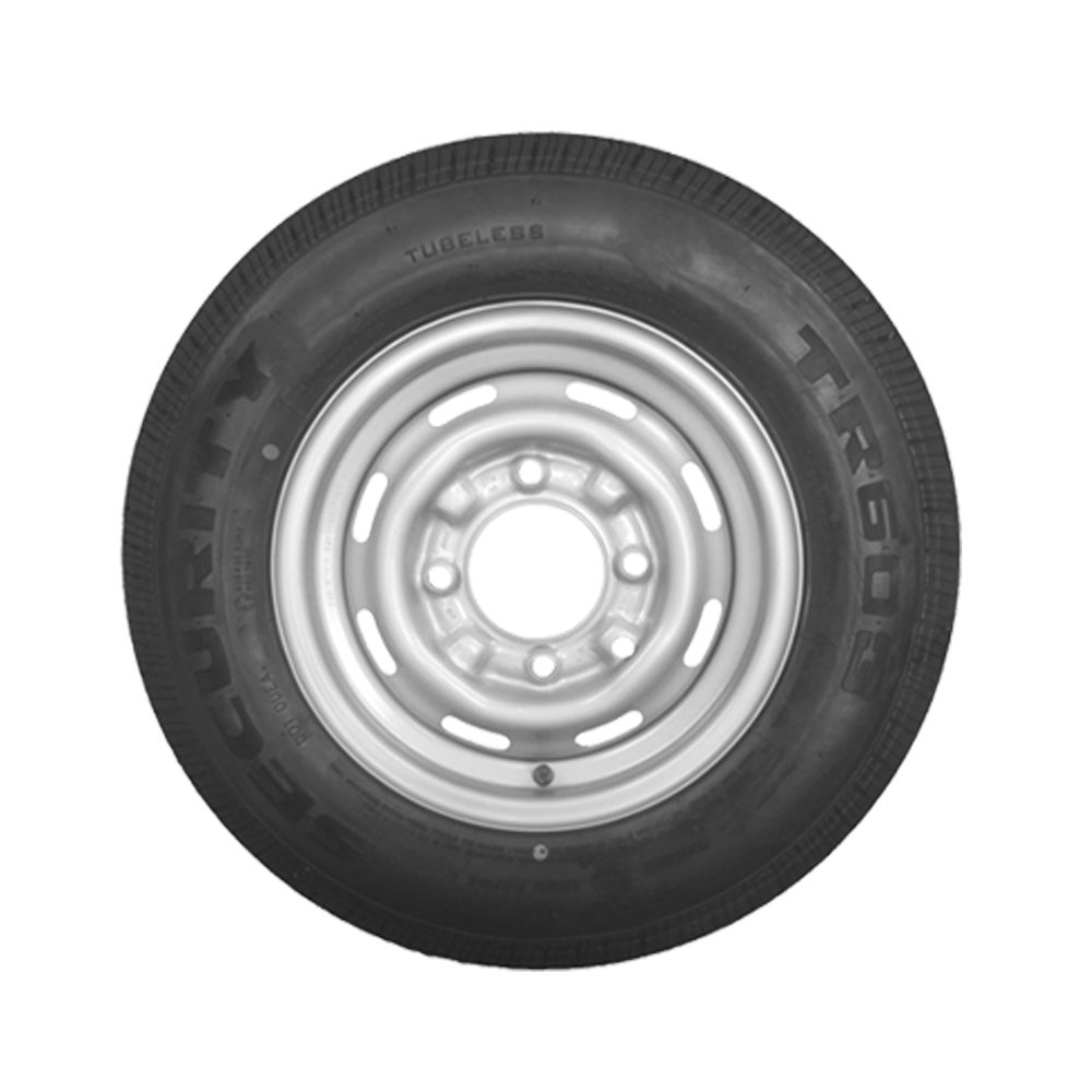 Wheel & Tyre 165 R13C 4 Stud PCD 5.5 Inch