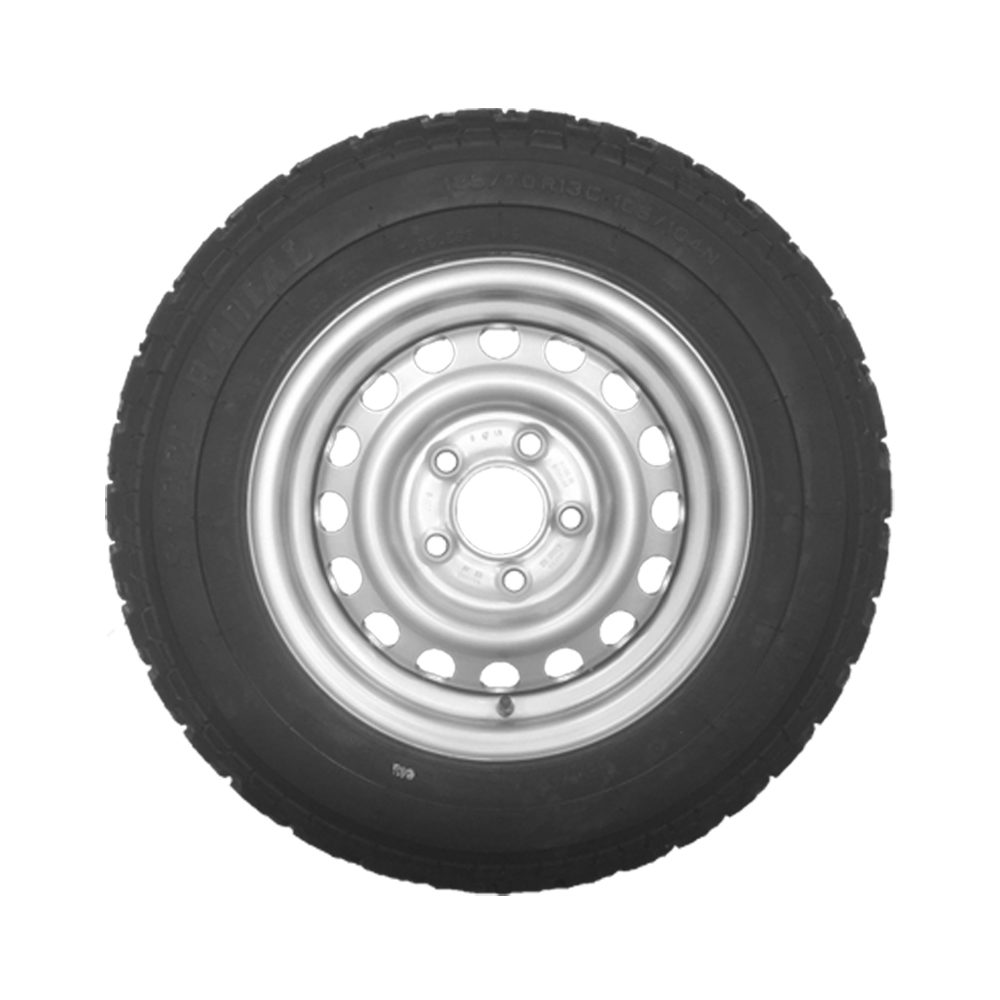 Wheel & Tyre 185/70 R13 5 Stud PCD 112mm