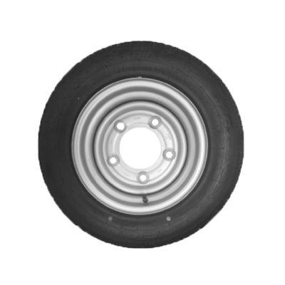 Wheel & Tyre 195/60 R12 5 Stud PCD 6.5 Inch