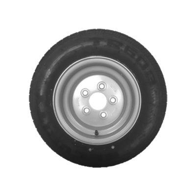 Wheel & Tyre 195/55 R10C 5 Stud PCD 112mm