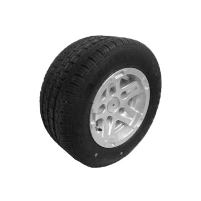 Alloy Wheel & Tyre 195/55 R10C 5 Stud PCD 112mm