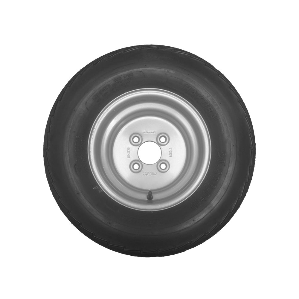 Wheel & Tyre 20.5x8.0-10 4 Stud 100mm PCD