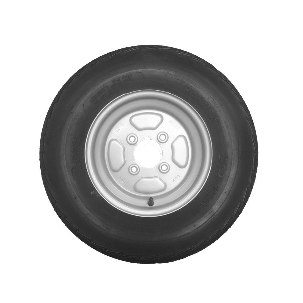 Wheel & Tyre 20.5x8.0-10 4 Stud 4inch PCD