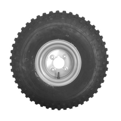 "Wheel & Tyre 22x11-8"" 4 Stud PCD 4 inch"