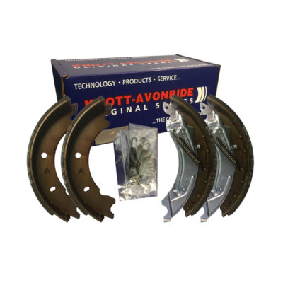 Genuine Knott 250x40 Brake Shoe Axle Set