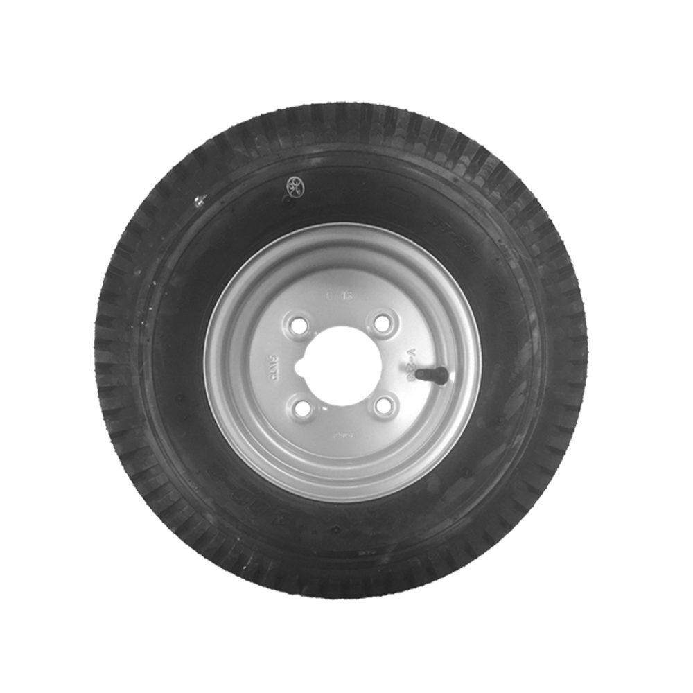 "Wheel & Tyre 400 x 8"" 4 Stud PCD 4 inch"