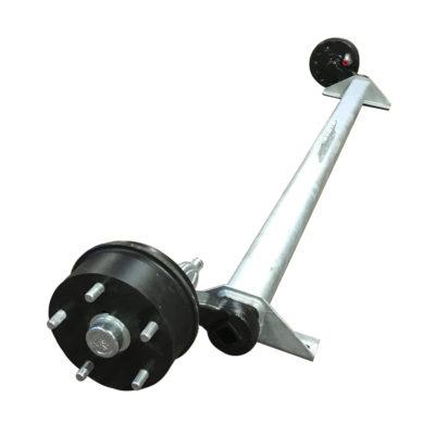 BPW axle 679 braked 46.27.379.679