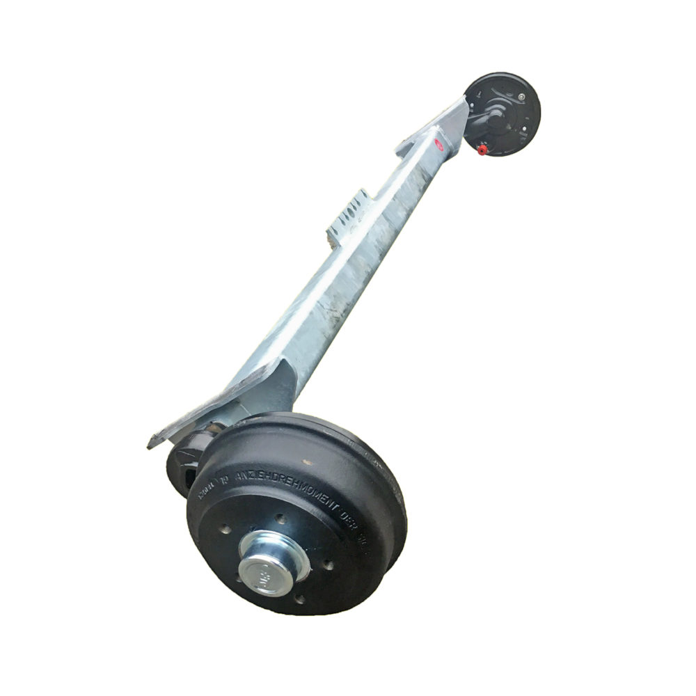 BPW Axle 673 Braked