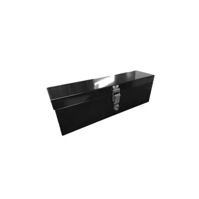 Black Steel Toolbox 415x120x130