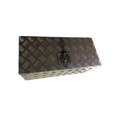 Aluminium Chequer Plate Toolbox 26x12x12