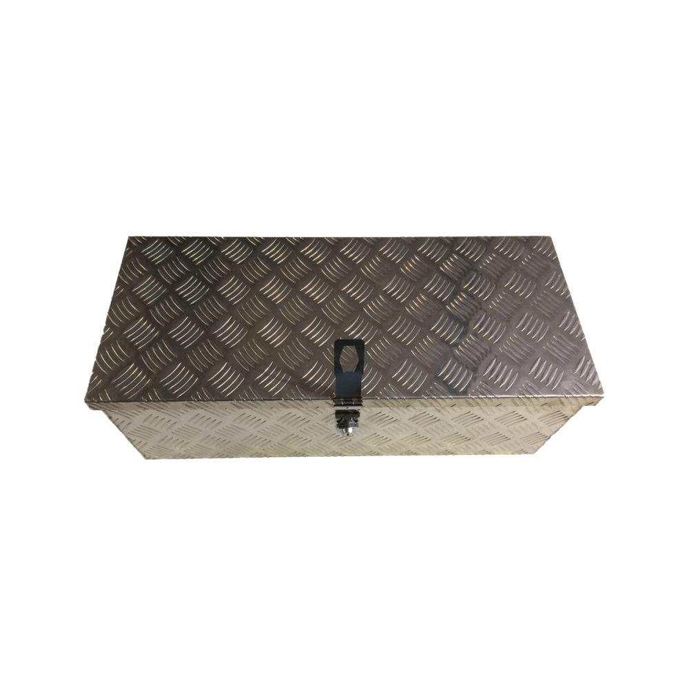 Aluminium Chequer Plate Toolbox 31x13x10 10317