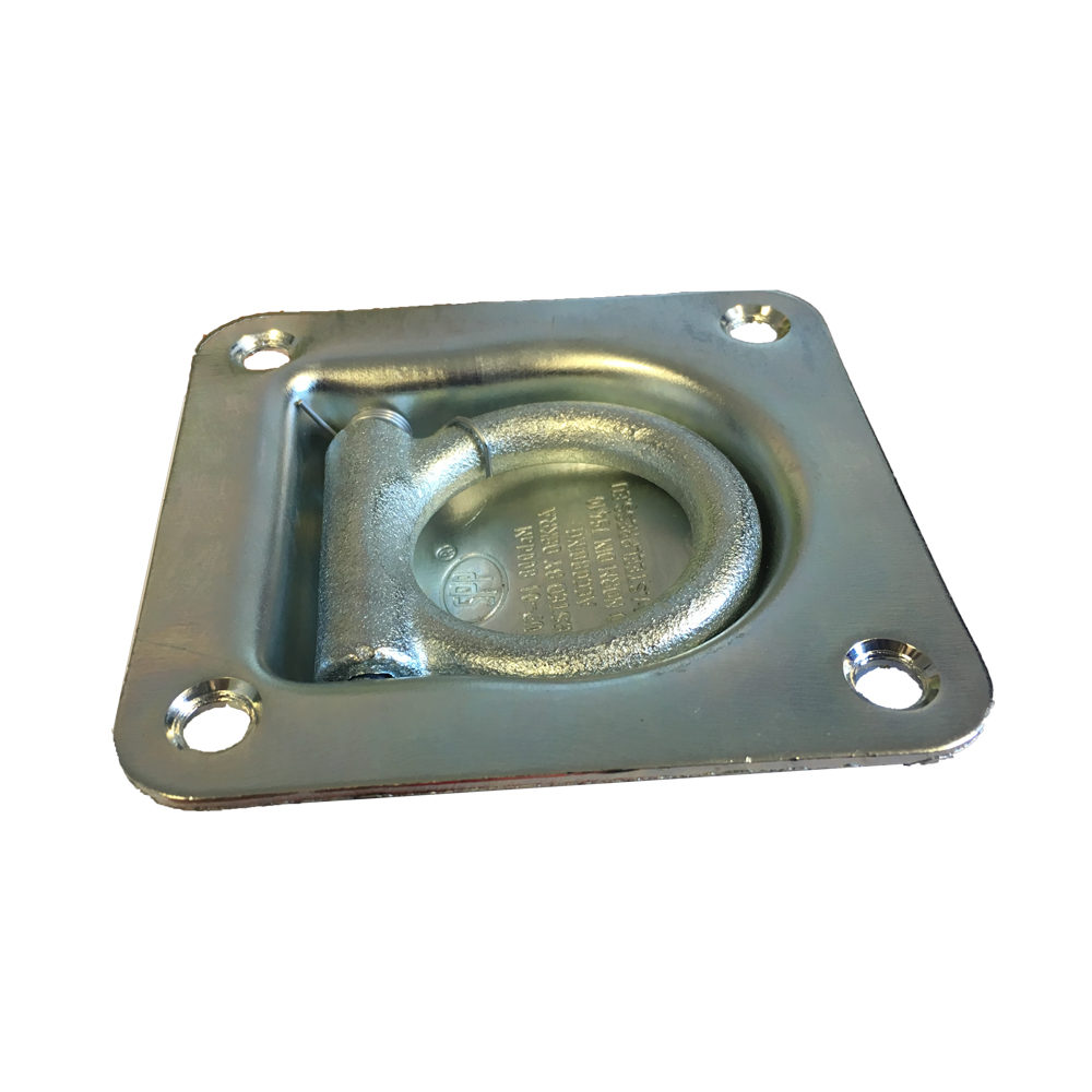 Recessed Fit Lashing Ring Trailer Tie Down