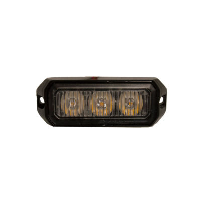 Amber LED Strobe Light R10/IP65 - 12/24V (9W) - mp4110b