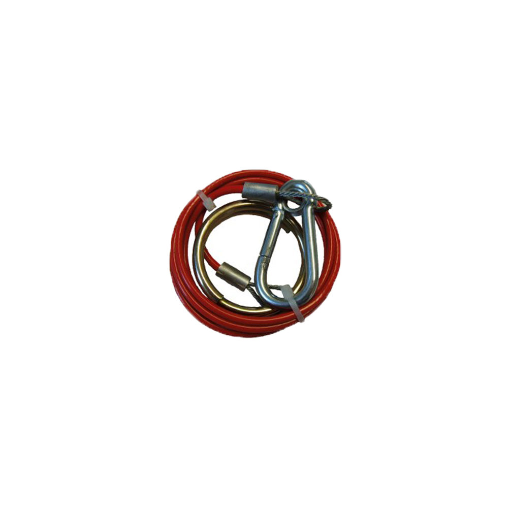 Breakaway Cable Ring End - 2mm x 1m