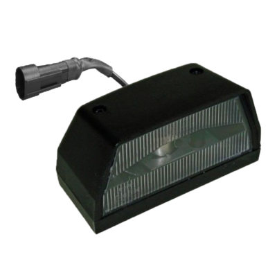Number Plate Light Unit Single