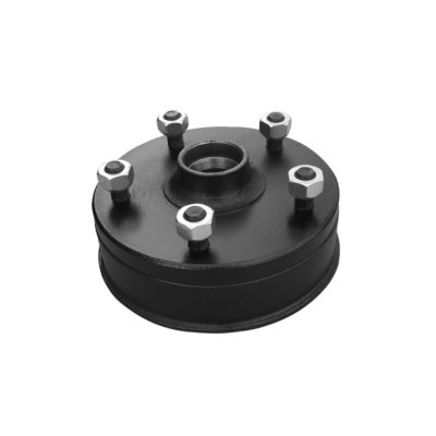 "Peak Brake Drum 200x50 - 5 Stud on 6.5"" PCD"