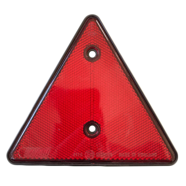 Red reflector triangle MP16B
