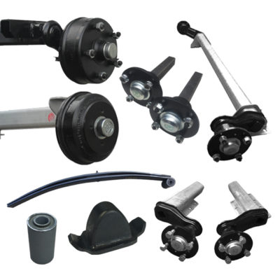 Trailer Axles, Suspension & Spares