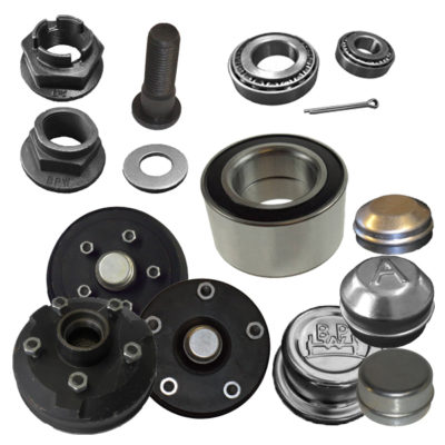 Brake Drums, Hubs, Bearings & Spares