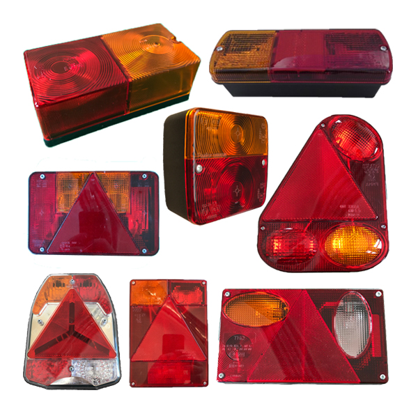 Trailer Rear Bulb Light Units