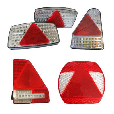 Rear LED Light Units