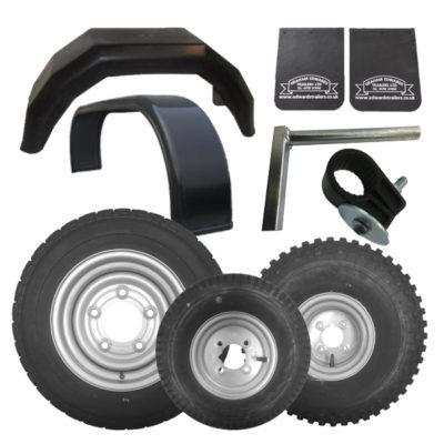 Wheels, Mudguards & Spares